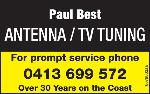 ANTENNA/TV TUNING    For prompt service phone   Over 30 Years on the C...