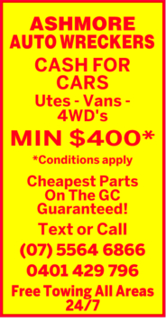 ASHMORE AUTO WRECKERS