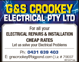 For all your electrical repairs & installation