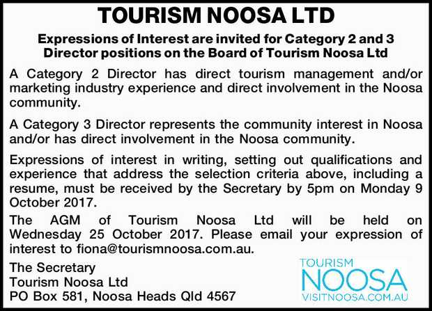 Expressions of Interest are invited for Category 2 and 3 Director positions on the Board of...