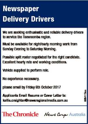 Newspaper Delivery Drivers