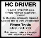 HC DRIVER