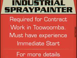 Required for Contract Work in Toowoomba. Must have experience Immediate Start For more details Phone: 0409 300 169 6679932ab INDUSTRIAL SPRAYPAINTER