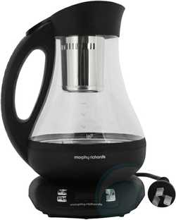Electronic Tea Maker Kettle, Has Timer, LCD Display plus much more