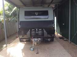 Jb scorpion 17 ft 6 offroad caravan. Full ensuite ,shower and toilet,3solar panels.2-120 amp batteri...