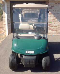 Ezgo RXV 2010 Model with 2016 US Batteries Battery filling system and new handpump  Charger Split Wi...