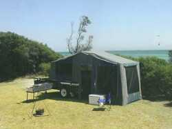 OUTBACK Camper trailer 2010, 12 mth rego, full side annex, side pull out kitchen, few extras. Ask...