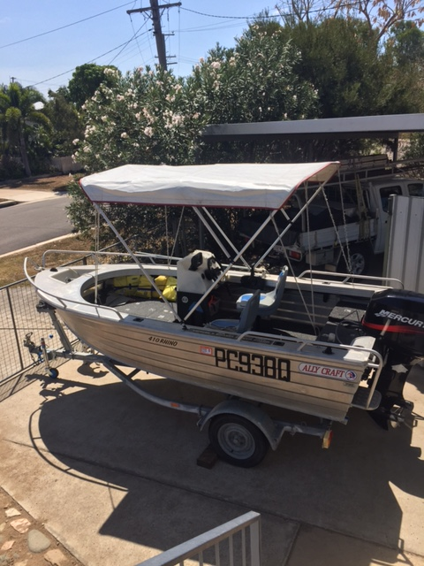 4.1M, '07 Model, Fully decked out, 40HP, Merc, 130HRS
