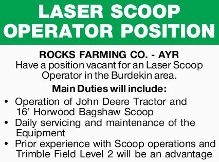 ROCKS FARMING CO. - AYR 