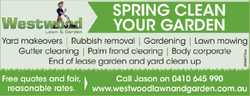 SPRING CLEAN YOUR GARDEN   Yard makeovers   Rubbish Removal   Gardening   Lawn Mo...