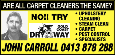 Dry Way Gold Coast   ARE ALL CARPET CLEANERS THE SAME?   No!! TRY   Upholstery Cleani...