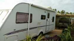 SWIFT Challenger 2005, 4 berth, a/c, separate shower/toilet, full annex, 3way fridge, light weigh...