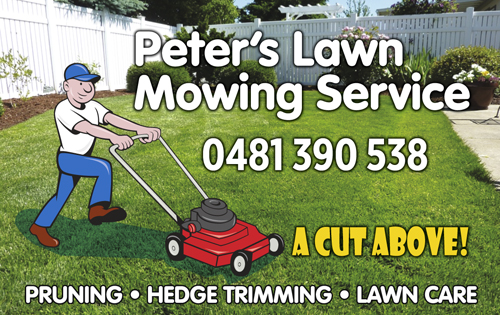 A CUT ABOVE!