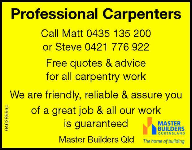 Specialising in Carpentry for Custom built houses and Bespoke Timber work