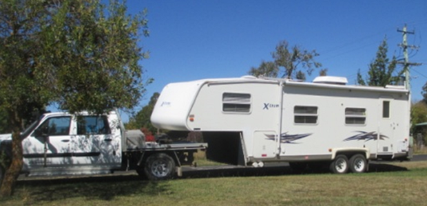 27 foot with slideout and awning