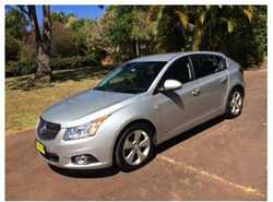 HOLDEN Cruze '14, 75,000k, auto, turbo charged, 1.4 petrol, silver, bluetooth, cruise contr...