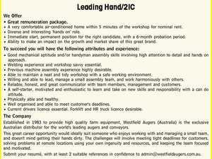 Leading Hand/2IC