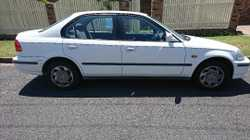 Honda Civic sedan, engine and interior in good condition. Always garaged and regular servicing.  Onl...
