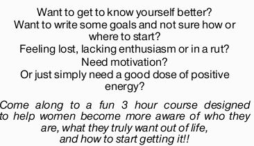 Want to get to know yourself better?