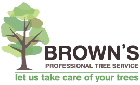 BROWN'S PROFESSIONAL TREE SERVICE