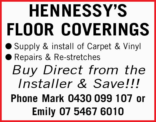 HENNESSY'S FLOOR COVERINGS