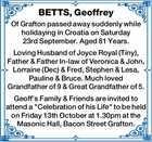 BETTS, Geoffrey