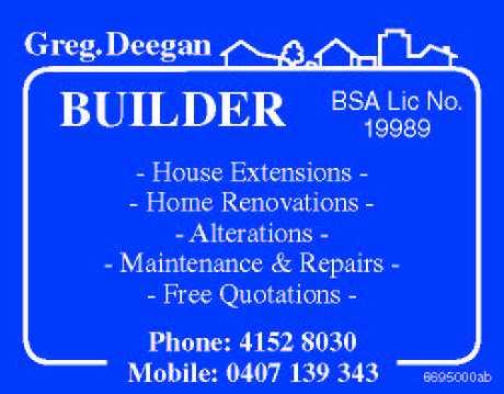 <p> Builder </p> <p> House Extensions </p> <p> Home...</p>