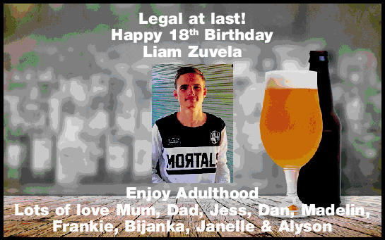 Legal at last!