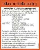 Property Management Position