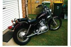 XV Yamaha Virago 2008, good condition, 19,400ks, Lams approved, new battery and front tyre, as is...