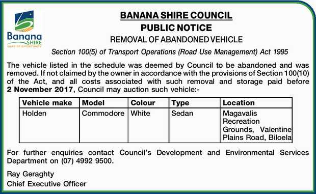 Abandoned Vehicle Notice Vehicle Ideas