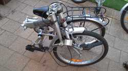 2 x folding bikes  with gears. Good condition with little use. Ideal for camping travellers