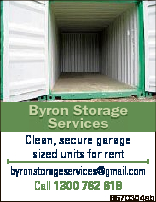 Byron Storage Services Clean, secure garage sized units for rent byronstorageservices@gmail.com Call...