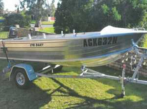 Quintrex 3.7 Dart with Trailer