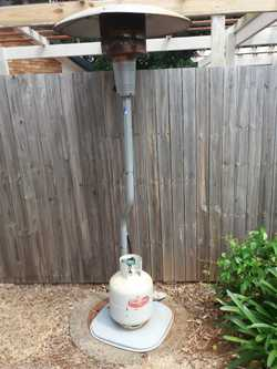 Outdoor Patio Heater , with Gas cylinder