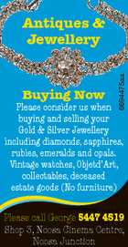Antiques & Jewellery -- Buying Now