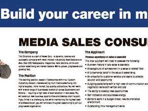 Build your career in multi-media The Company The Applicant The Package The Chronicle is a part of News Corp - a dynamic, diverse and successful company with wide interest in Australia, New Zealand and Asia. Over 200 Newspapers, magazines, radio stations, online and outdoor advertising are market leaders. We're upbeat ...