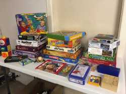 Tupperware, Kitchenware, kids DVDs & VHS, Books, Puzzles, Toys, New outdoor blinds, Scrapbooking, Te...