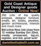 Gold Coast Antique and Designer goods Auction