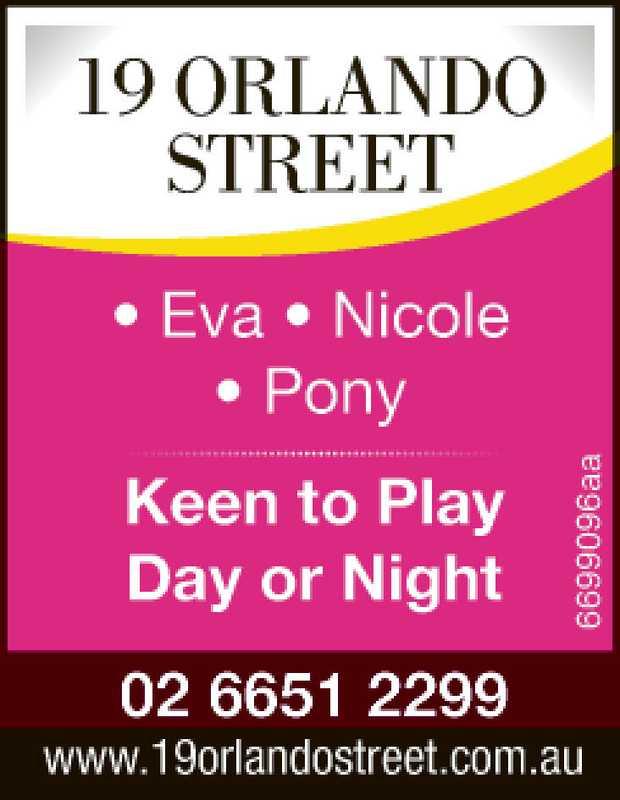 19 Orlando Street   * Eva * Nicole * Pony