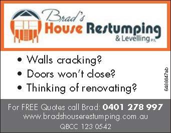 Walls cracking?   • Doors won't close?   • Thinking of renovating?   ...