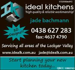 5722692adHC ideal kitchens `high quality & reliable workmanship' jade bachmann 3D !!! ns...