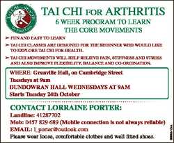 TAI CHI FOR ARTHRITIS 6 WEEK PROGRAM TO LEARN THE CORE MOVEMENTS  FUN AND EASY TO LEARN  TAI CHI CLA...