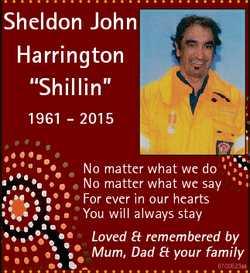 "Sheldon John Harrington ""Shillin"" 1961 - 2015 No matter what we do No matter what we say F..."
