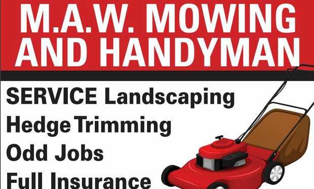 Landscaping   Hedge Trimming   Odd Jobs   Full Insurance   Ph...