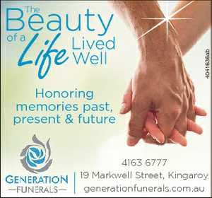 <p> The 4041636ab Life Honoring memories past, present & future 4163 6777 19 Markwell Street...