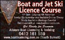 Boat and Jet Ski Licence Course Get Ready for Summer Allstate Boat Licensing & Training 0412 161...