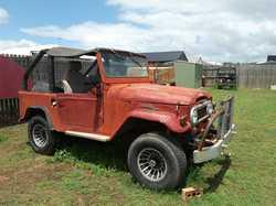 LANDCRUISER 1973 short wheel base, FJ40, 4x4 petrol, soft top, bull bar, tow bar, roll over bar,...