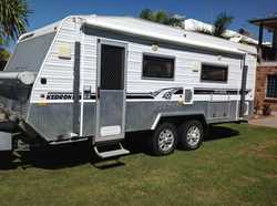 KENDRON 21ft Topender off road caravan 2009, fully optioned out for extended self sufficient tour...