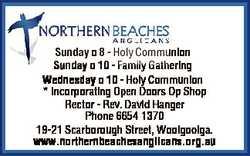 Sunday 8 - Holy Communion Sunday 10 - Family Gathering Wednesday 10 - Holy Communion * Incorporat...